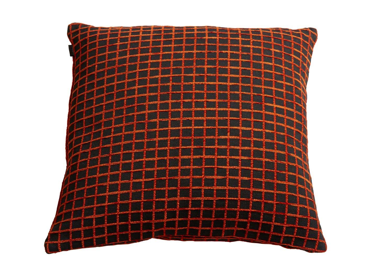 Billede af Pattern sofapude - orange