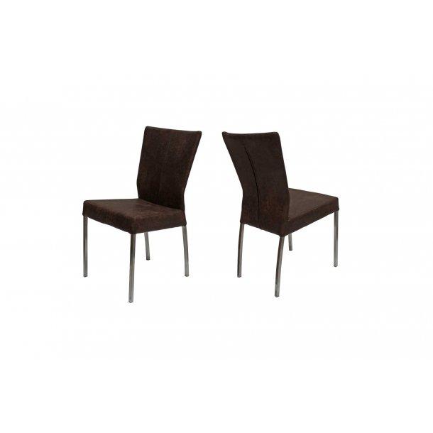 Prima stol - mørkebrun