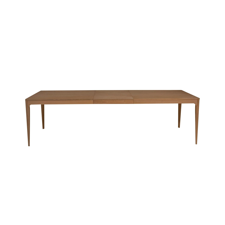 canett Canett nyborg rektangulær spisebord, m. udtræk - natur egetræsfiner (200x90) på boboonline.dk