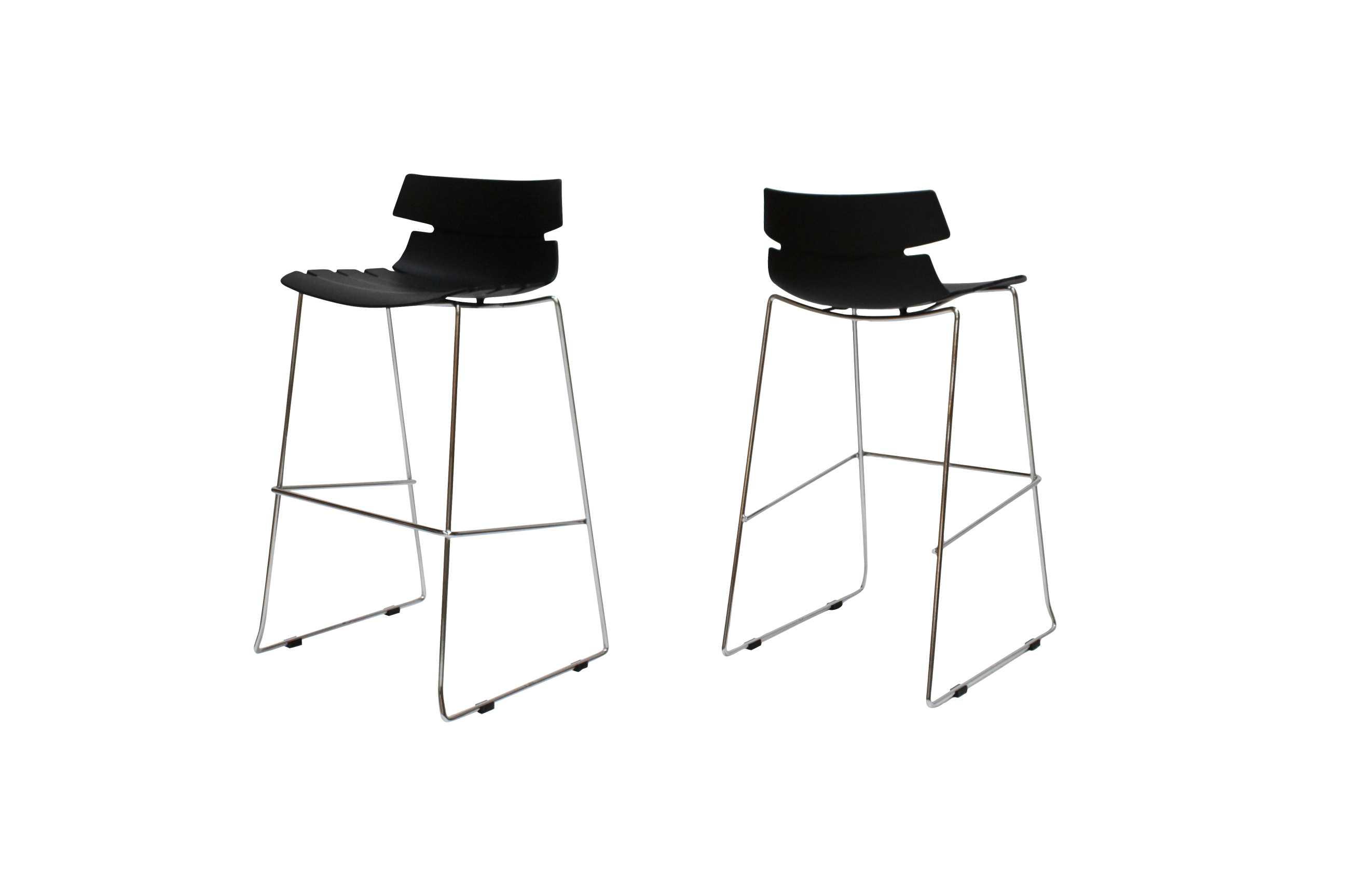 canett – Victor barstol, sort fra boboonline.dk