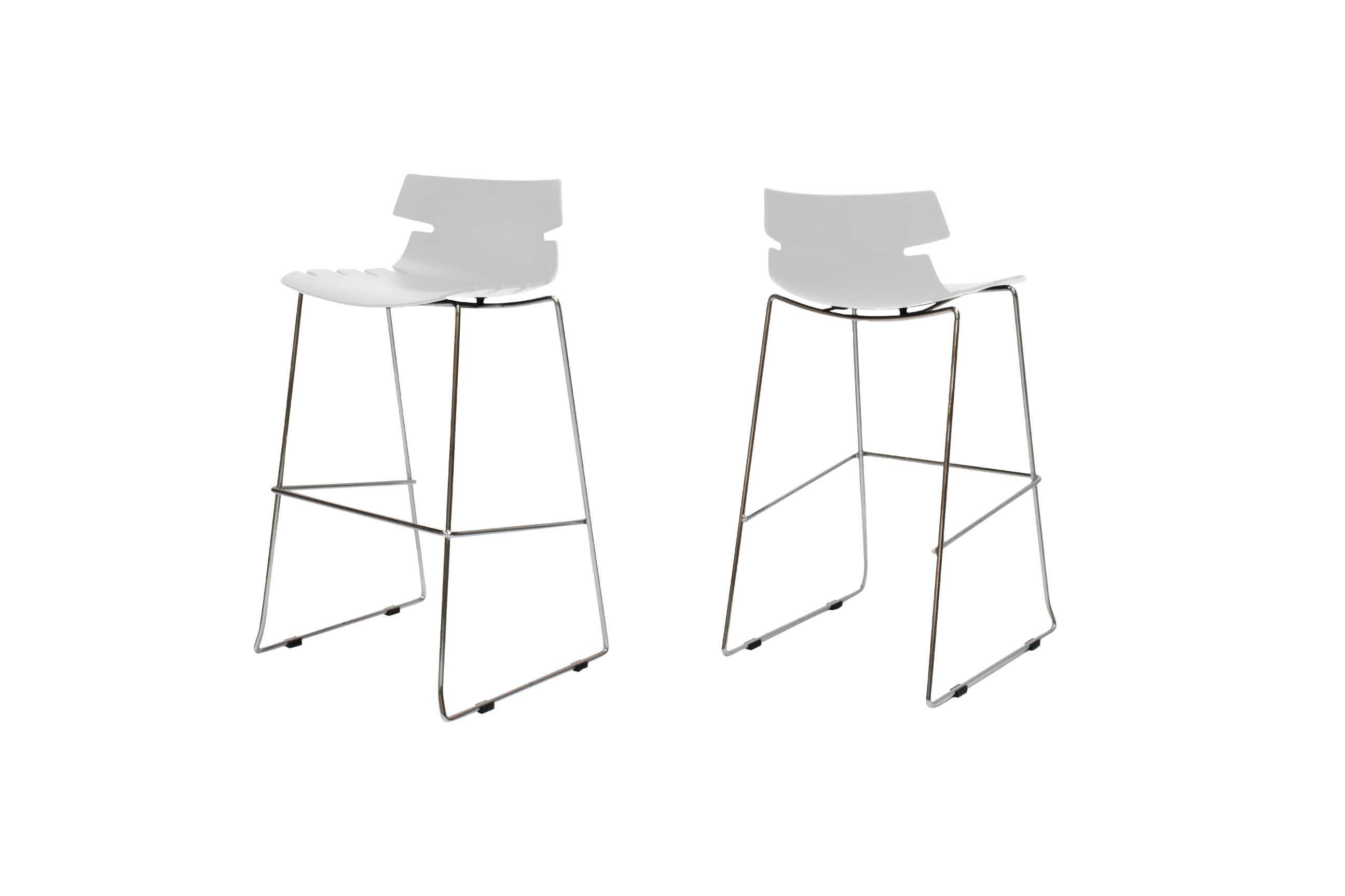 Victor barstol, hvid fra canett på boboonline.dk