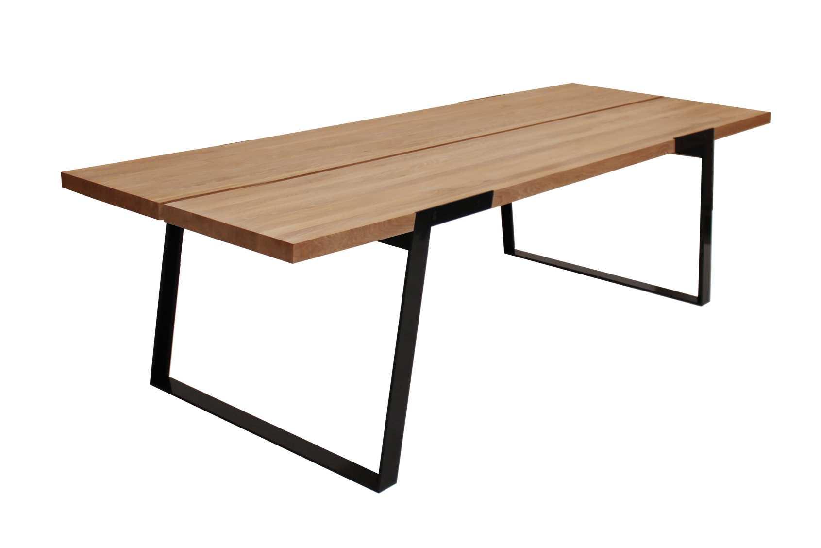 Billede af Zilas spisebord (290 cm) i olieret vild eg