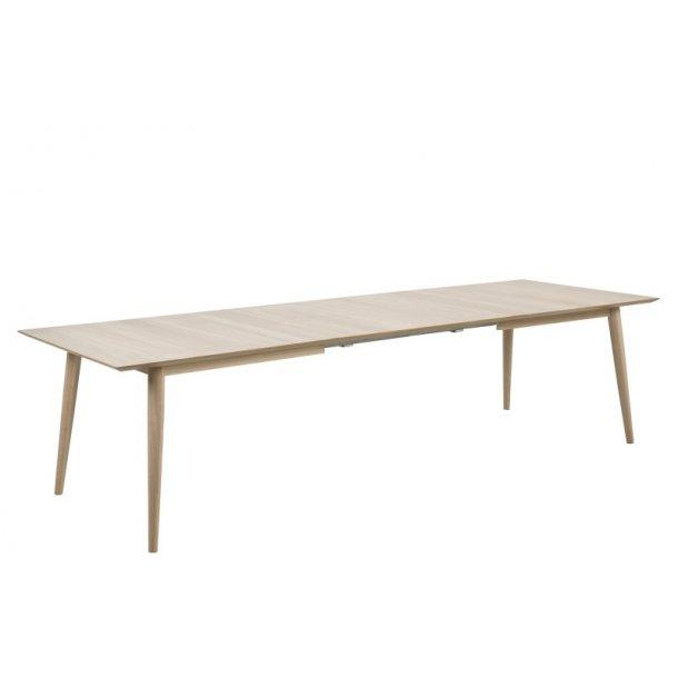 Century spisebord i hvidpigmenteret eg