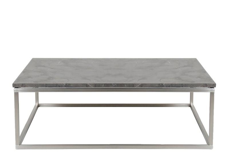 Billede af Bran rå marmor sofabord (100x100)