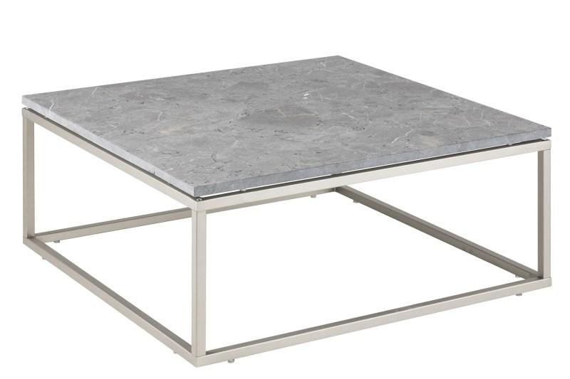 Billede af Bran sofabord med marmorplade