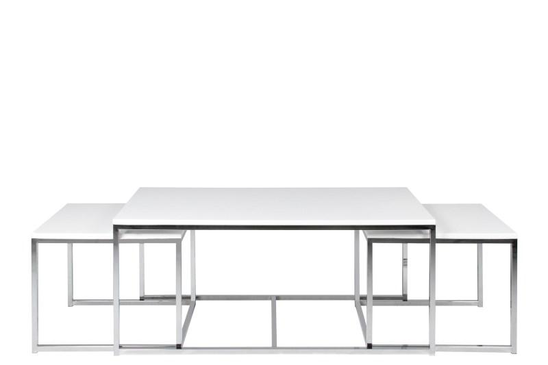Billede af Cornus sofabordssæt i hvid