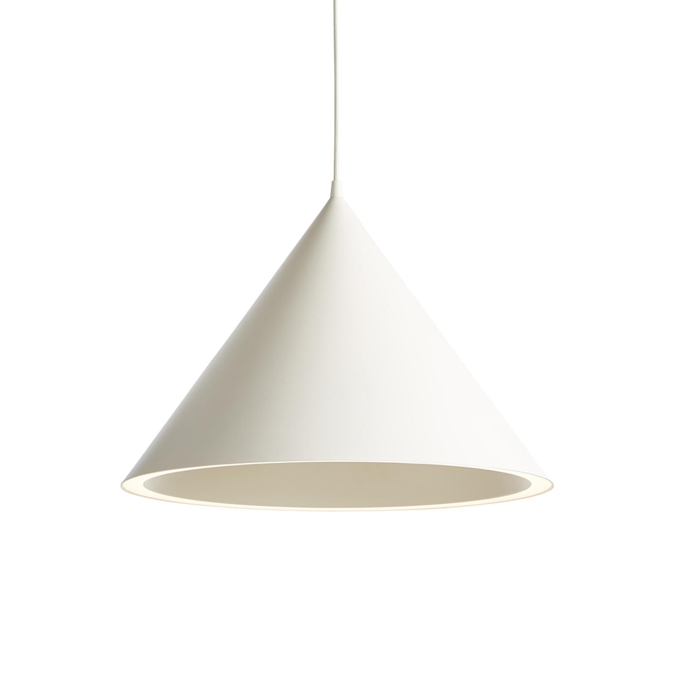 Køb WOUD Annular loftlampe stor – hvid, kegleformet (Ø46,8)