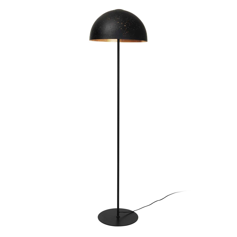 Køb BROSTE COPENHAGEN Lavas gulvlampe – messing/sort metal, (Ø40)