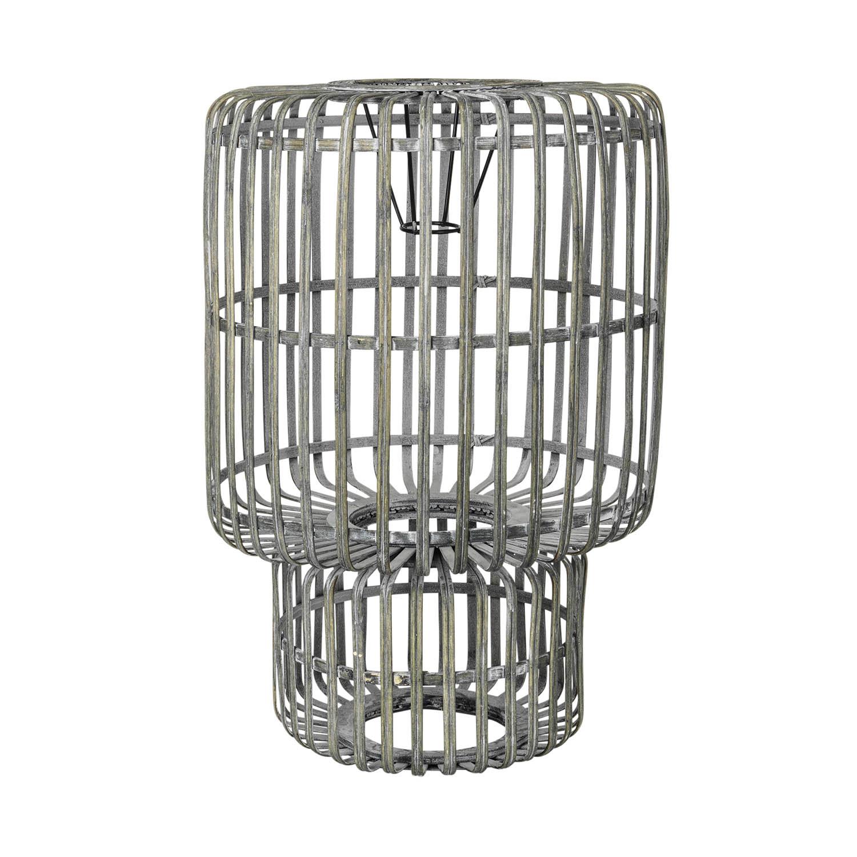 BROSTE COPENHAGEN Zelly lampeskærm - grå bambus