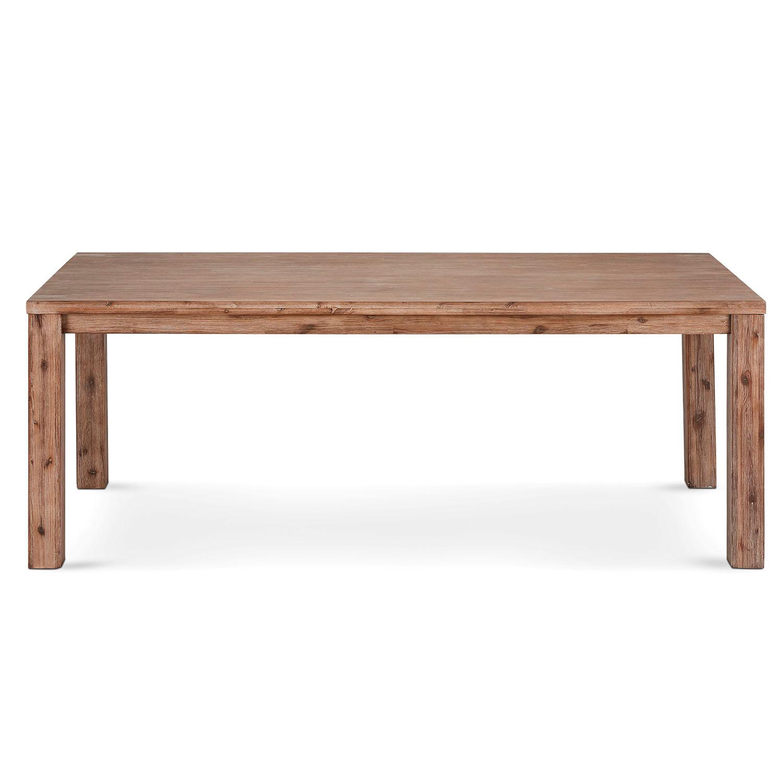 Atlantic spisebord - træ, m. udtræk (140x90)