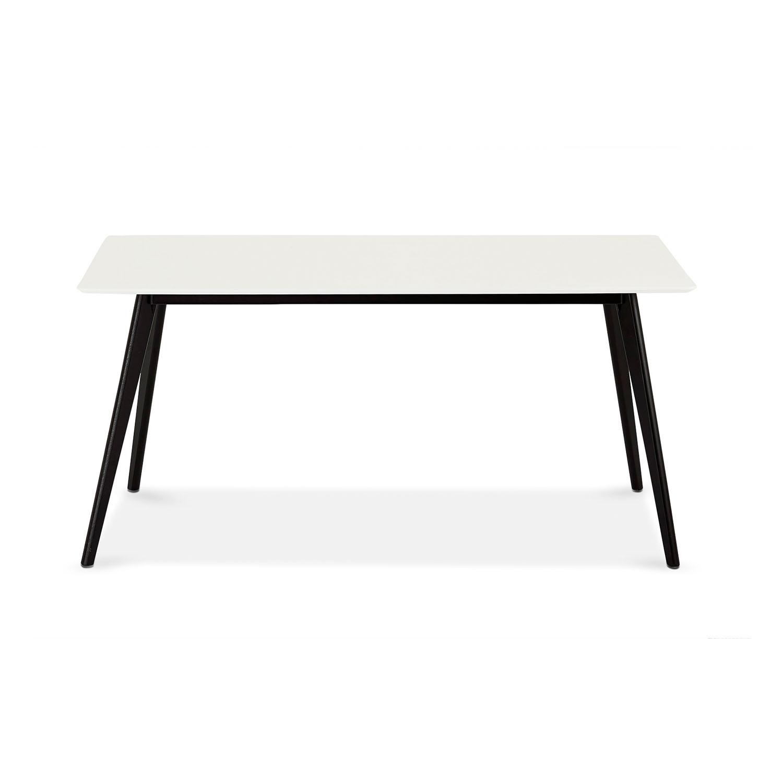 Like Spisebord - Sort/Hvid Træ, 90 X 160