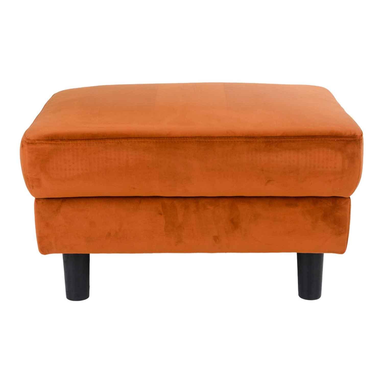 house nordic – House nordic artena puf, orange velour på boboonline.dk