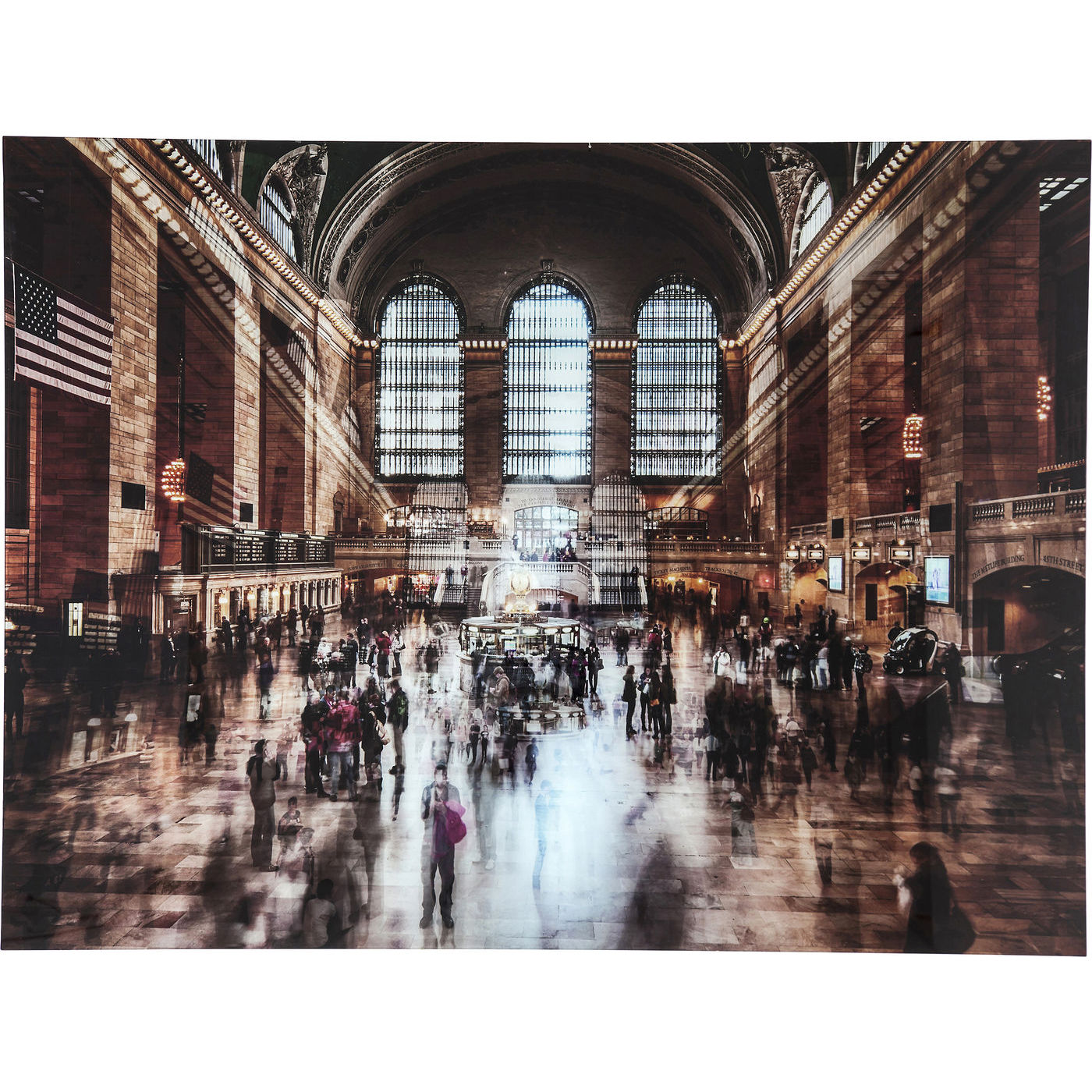 Image of   Kare Design Grand Central Station 12 Plakat, glas