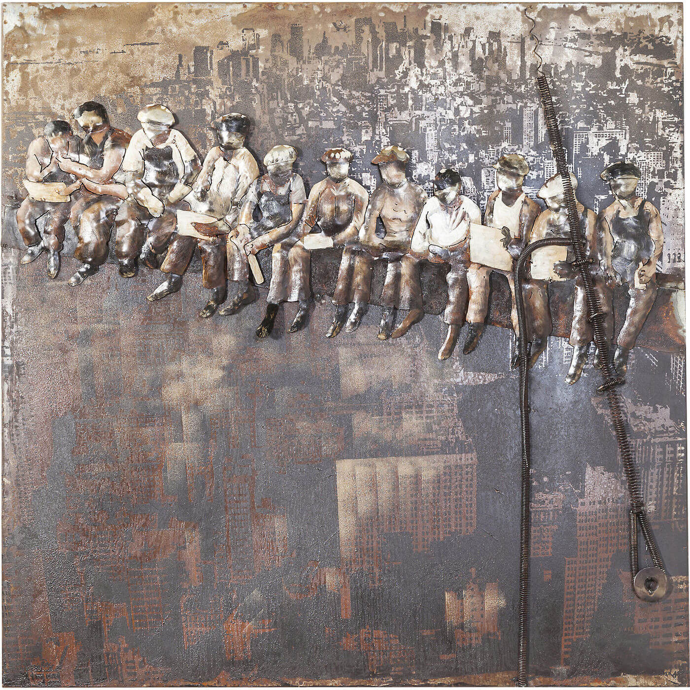 Image of   Kare Design Plakat, Iron Construction Workers