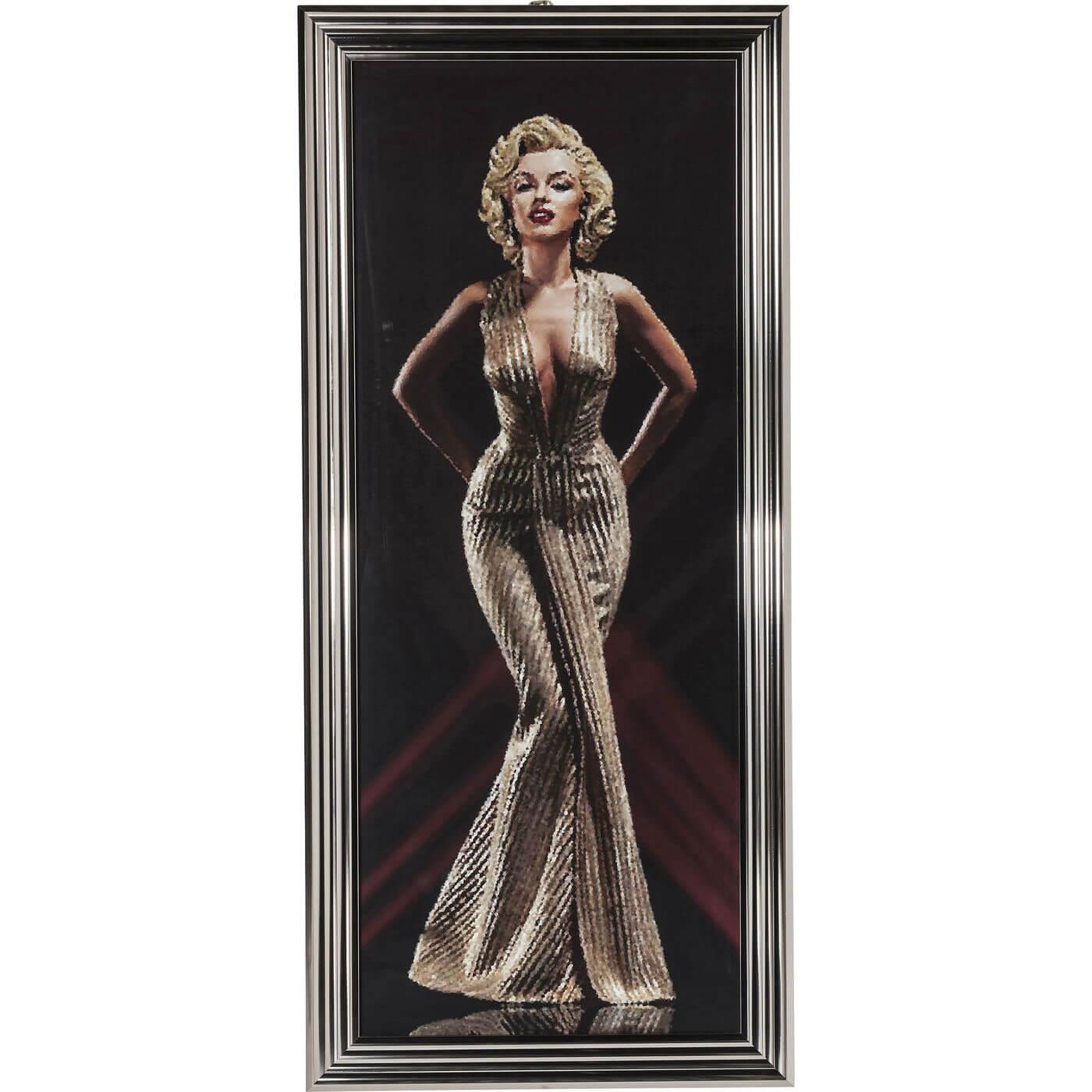 Billede af Kare Design Plakat m. Ramme, Sex Bomb 165x75cm