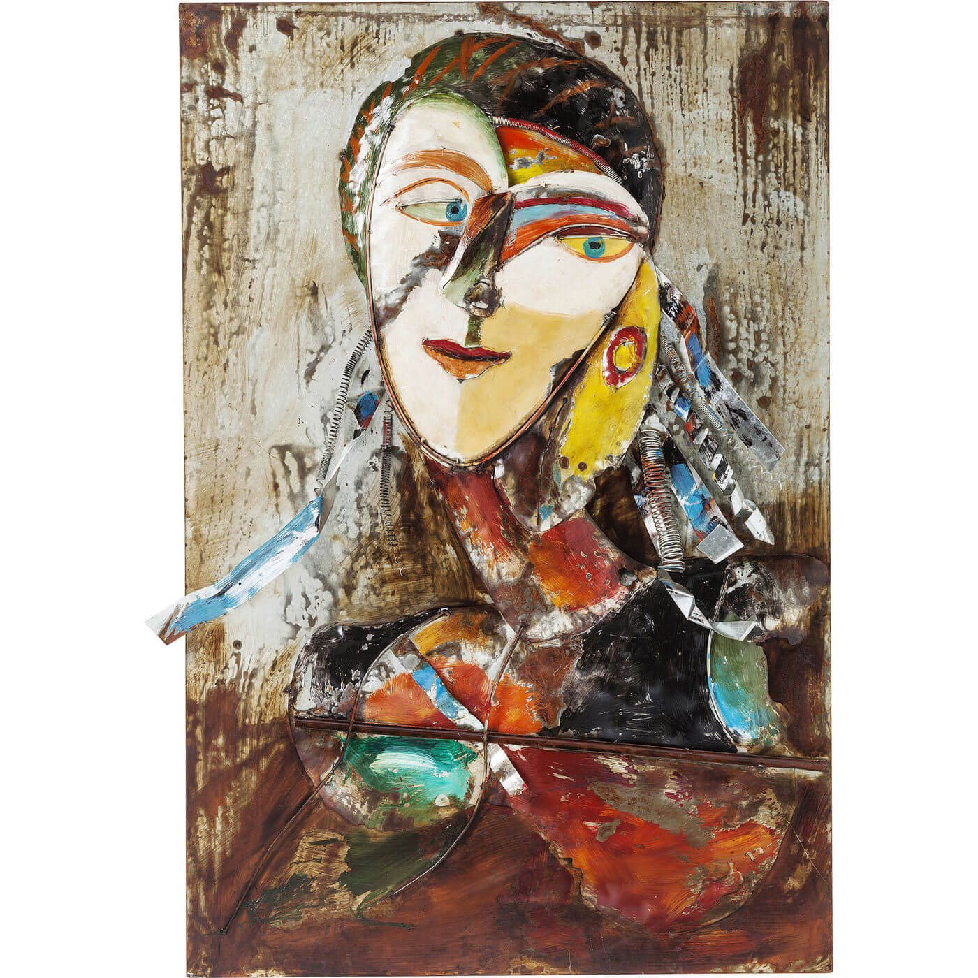 Image of   Kare Design Plakat, Iron Artist Face Lady, 120x80cm