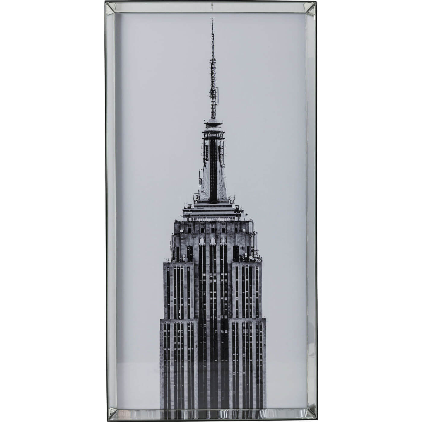 Image of   Kare Design Plakat m. Ramme Empire State Buil