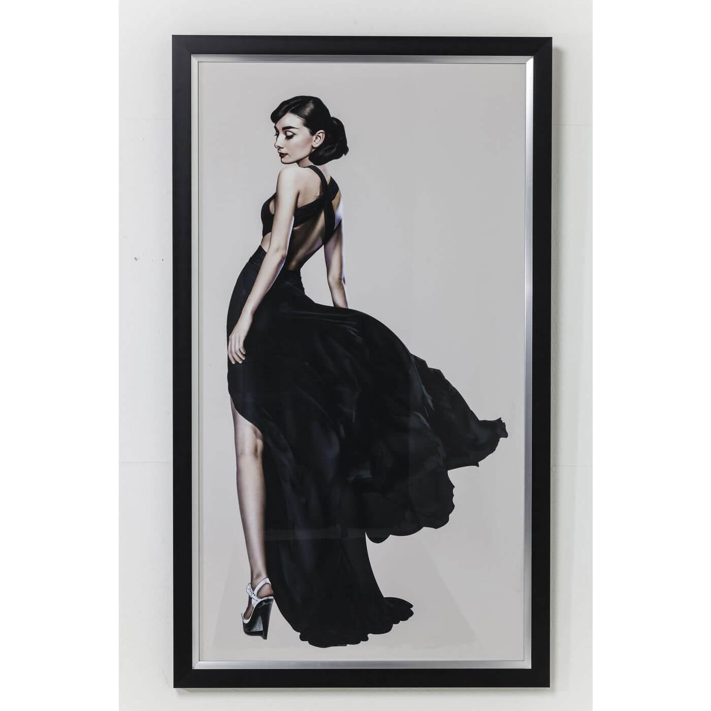 Image of   KARE DESIGN Plakat m. Ramme, Audrey 172x100cm