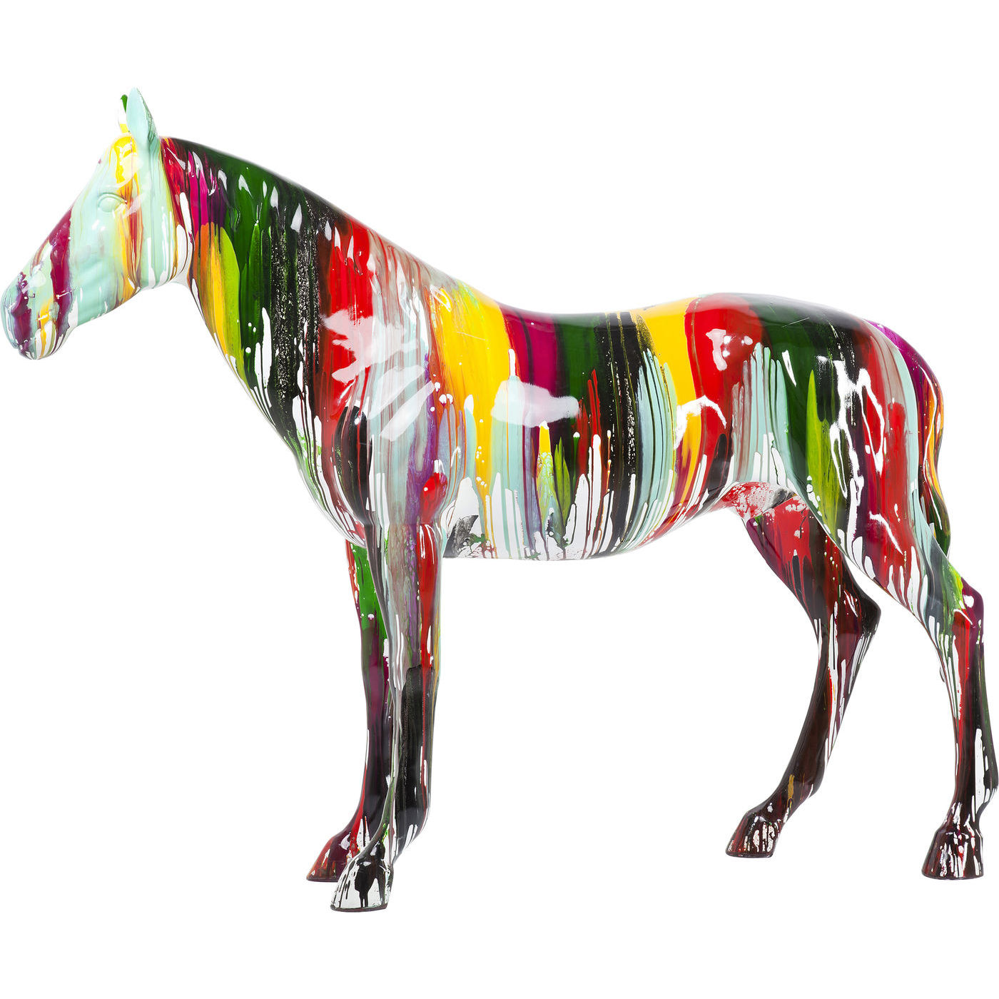 Image of   Kare Design Skulptur, Horse Colore