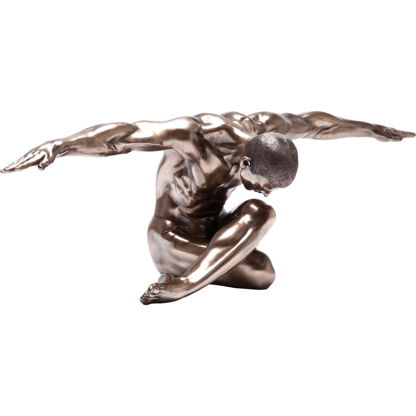 Image of   Kare Design Skulptur, Nude Man Bow