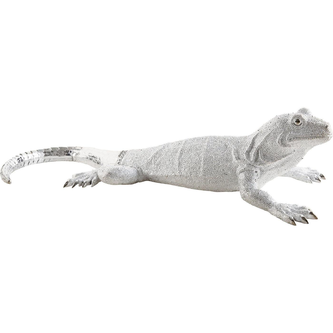 Image of   KARE DESIGN Skulptur, Lizard Silver Deluxe