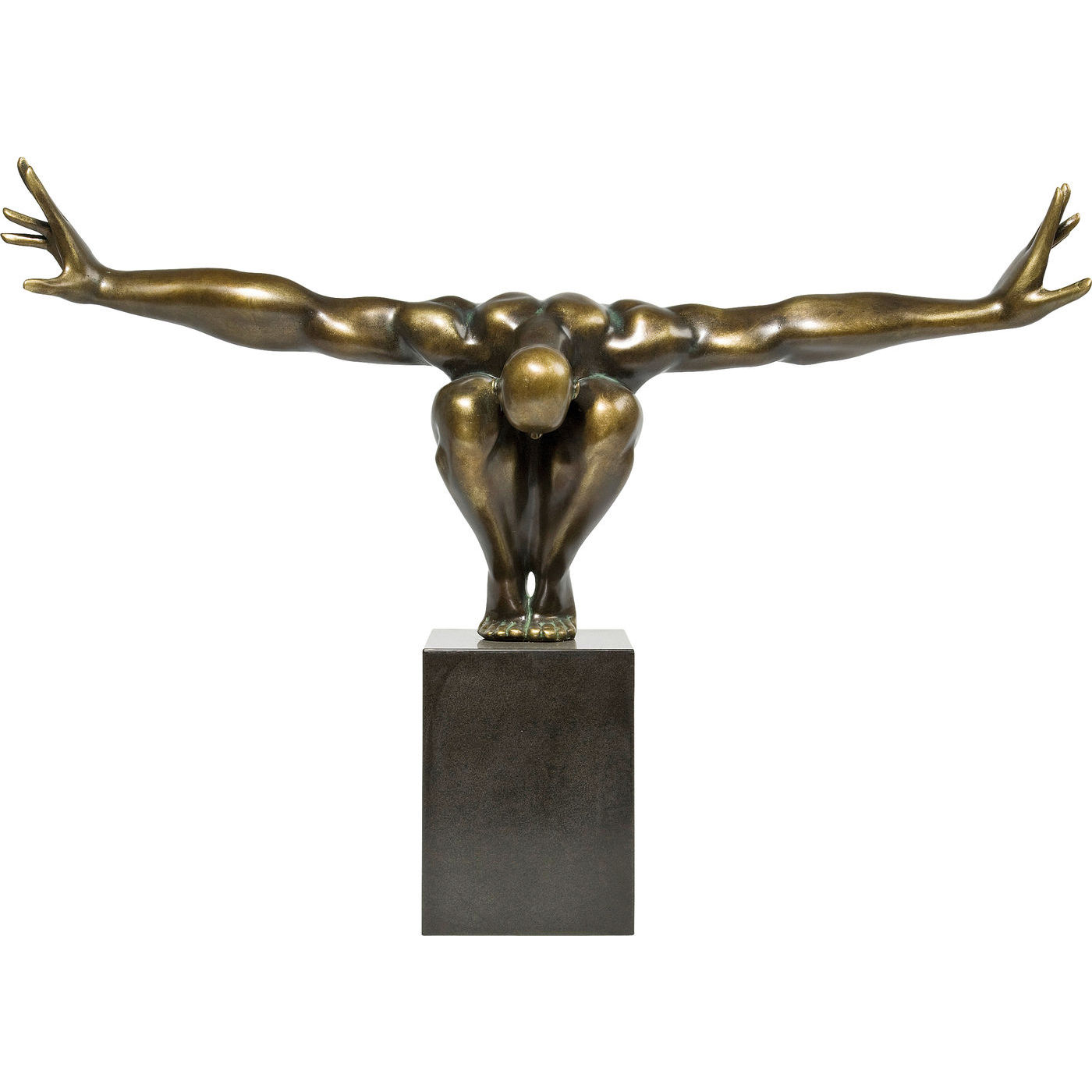 Image of   Kare Design Skulptur, Athlet Bronze