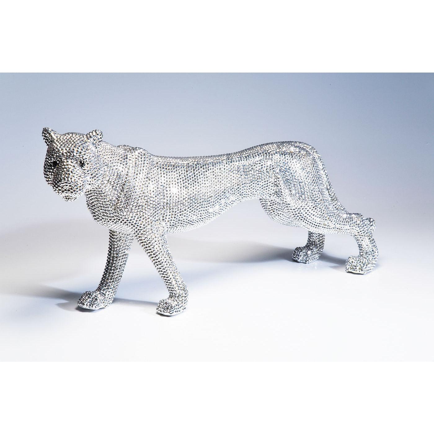 Image of   KARE DESIGN Skulptur, Leopard Glitter