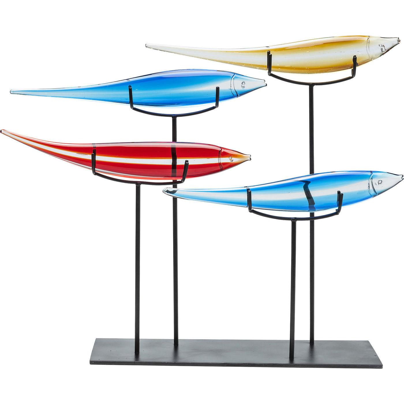 Image of   KARE DESIGN Skulptur, Pesce Colore