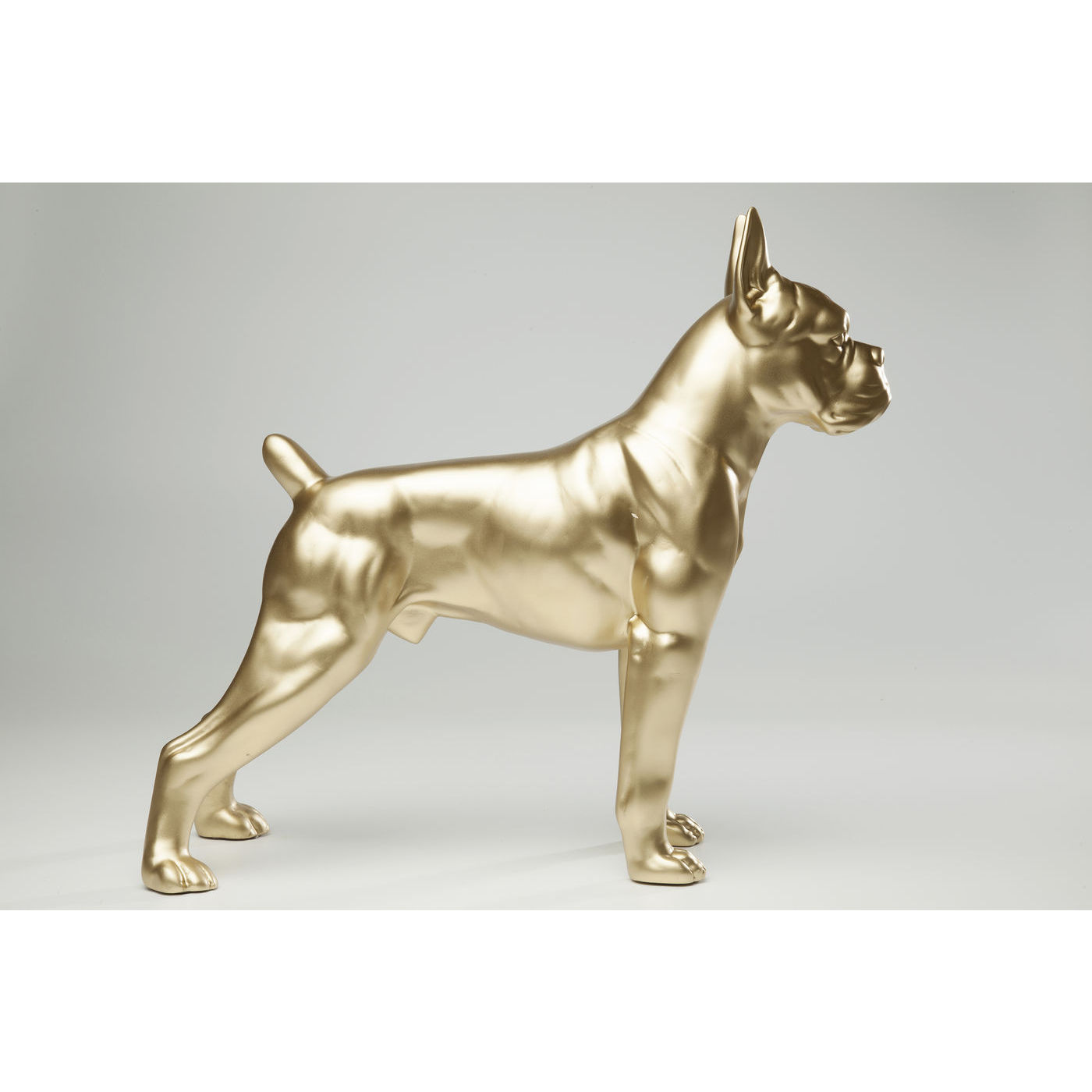 Image of   Kare Design Skulptur, Toto Gold