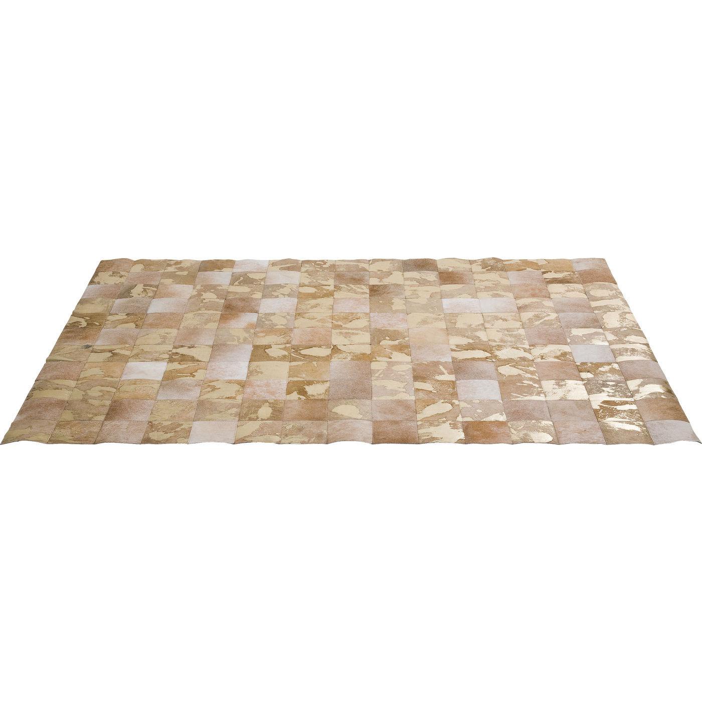 KARE DESIGN Vegas Fur gulvtæppe - brunt koskind (170x240) thumbnail
