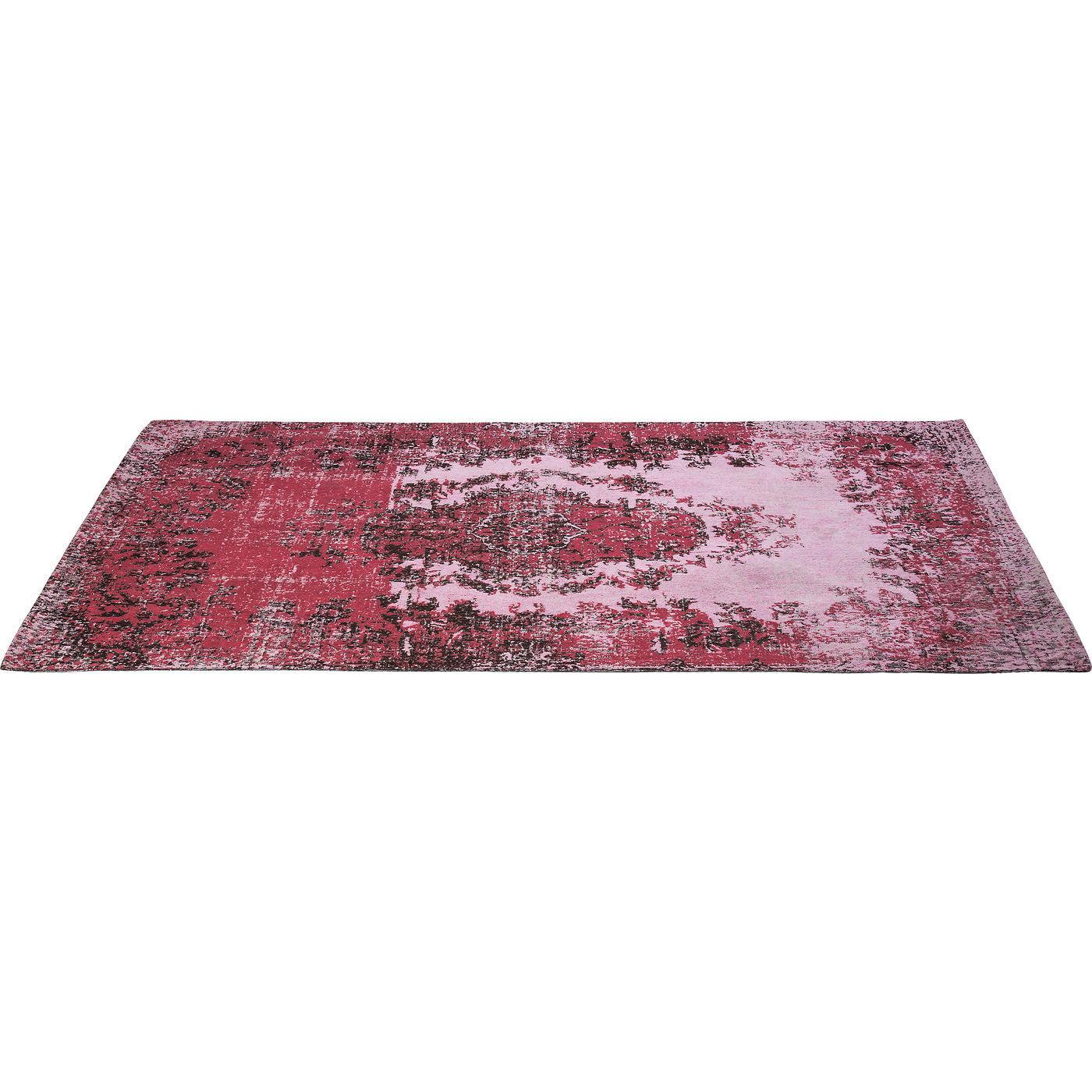 Image of   KARE DESIGN Tæppe, Kelim Pop Pink 240x170cm