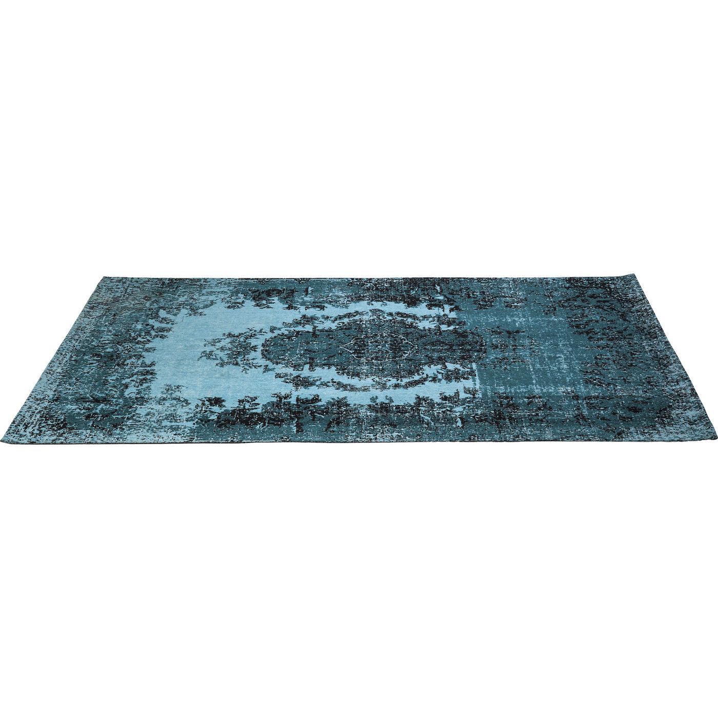 Image of   KARE DESIGN Tæppe, Kelim Pop Turquoise 240x170cm