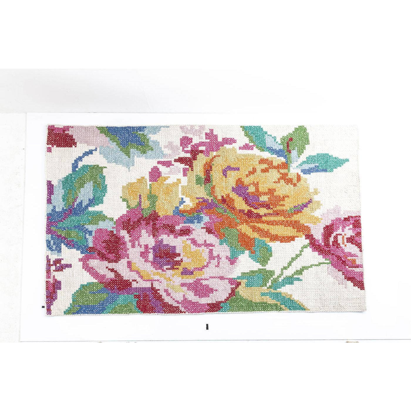 Billede af Kare Design Tæppe, Rosegarden 170x240cm