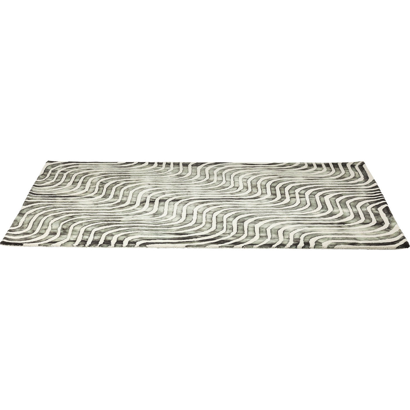 Image of   Kare Design Tæppe, La Ola Gray 170x240cm