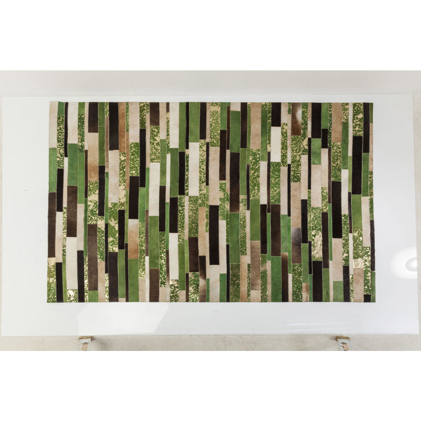Billede af Kare Design Tæppe, Brick Green 170x240cm