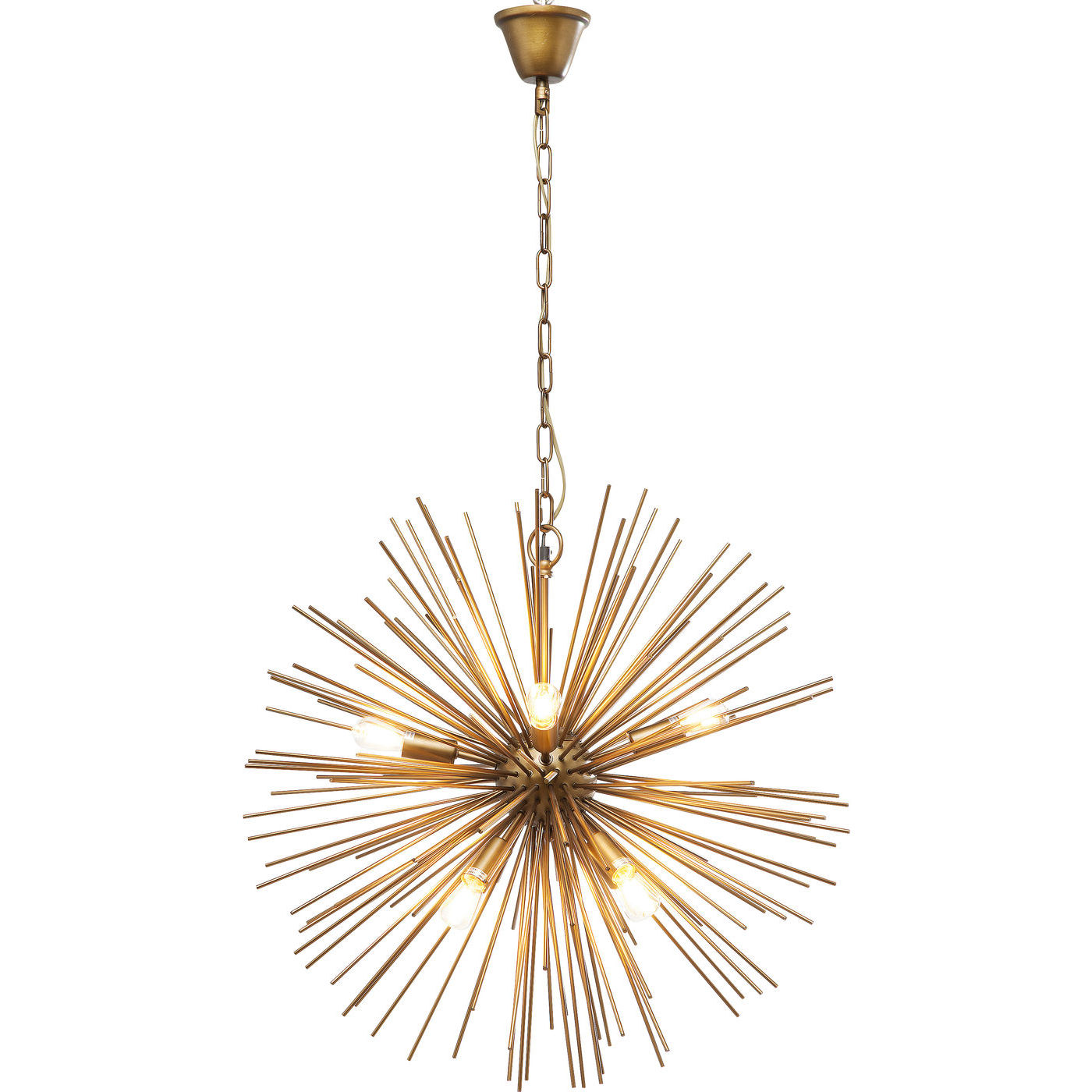 Billede af Kare Design Loftslampe, Beam Brass