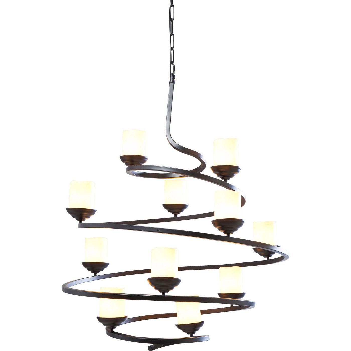 Image of   KARE DESIGN Loftslampe, Spiral Candle