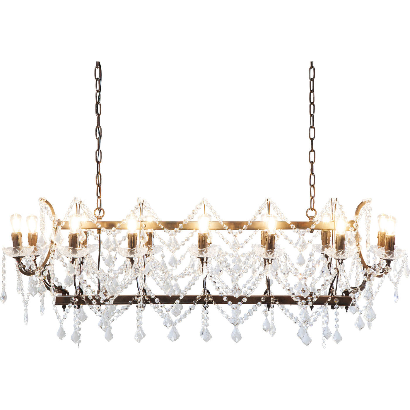 KARE DESIGN Loftslampe, Chateau Crystal Rusty