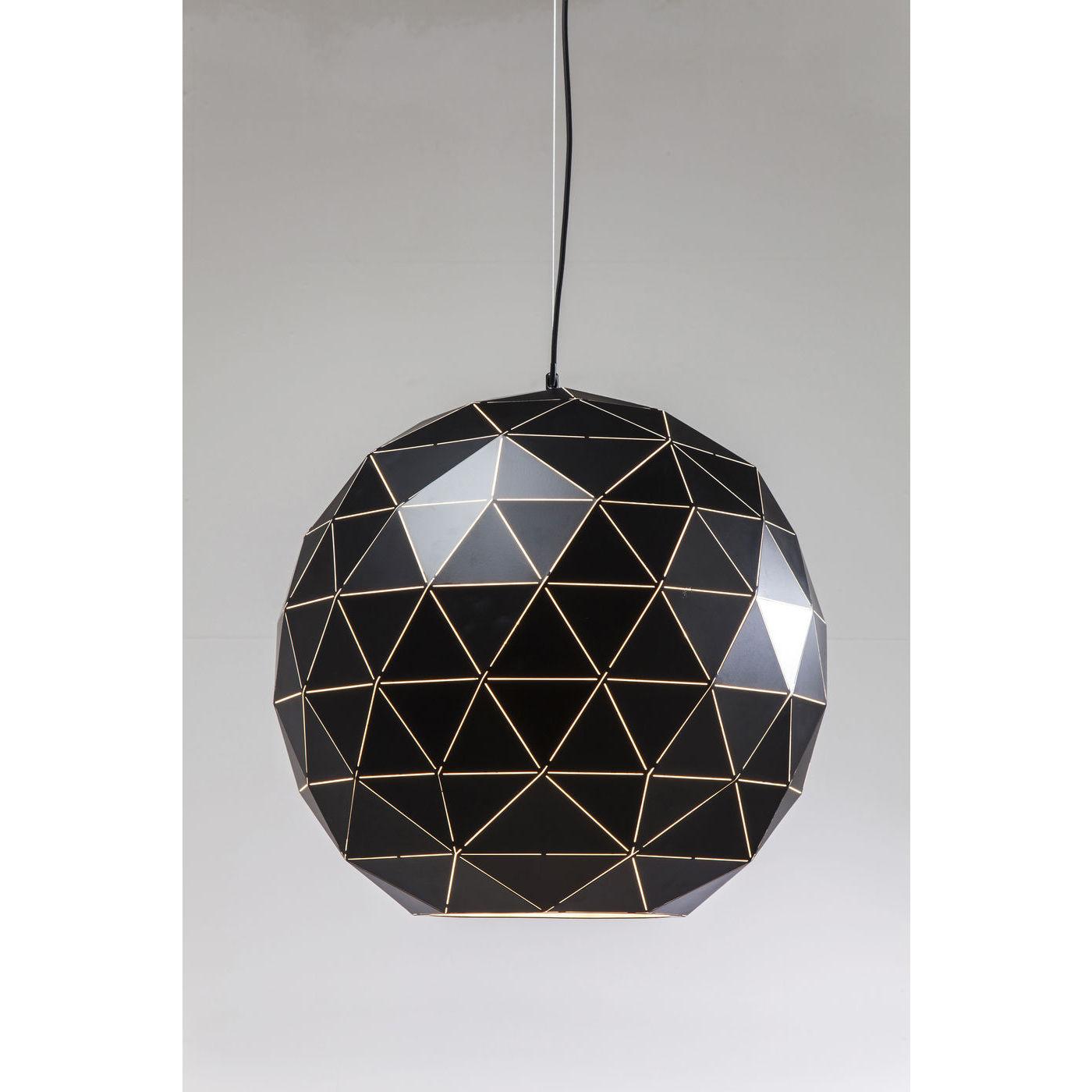 Billede af Kare Design Loftslampe, Triangle Black