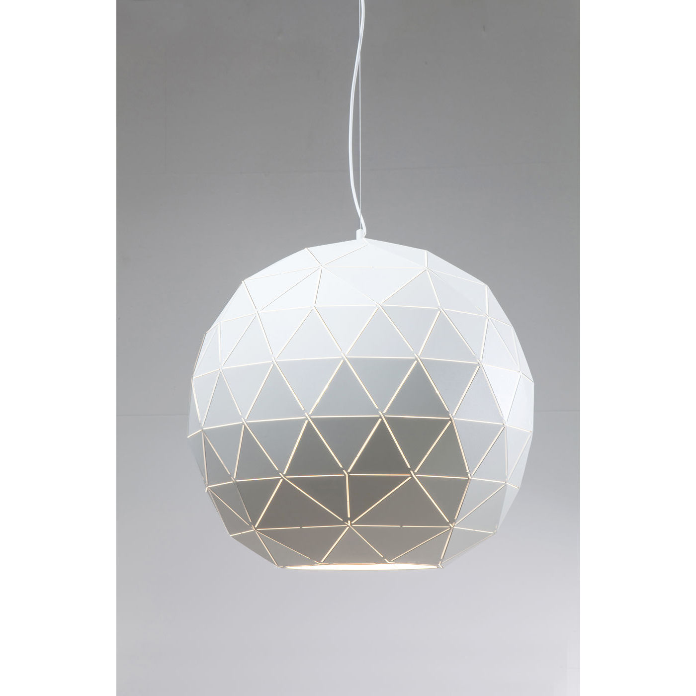Image of   KARE DESIGN Loftslampe, Triangle White