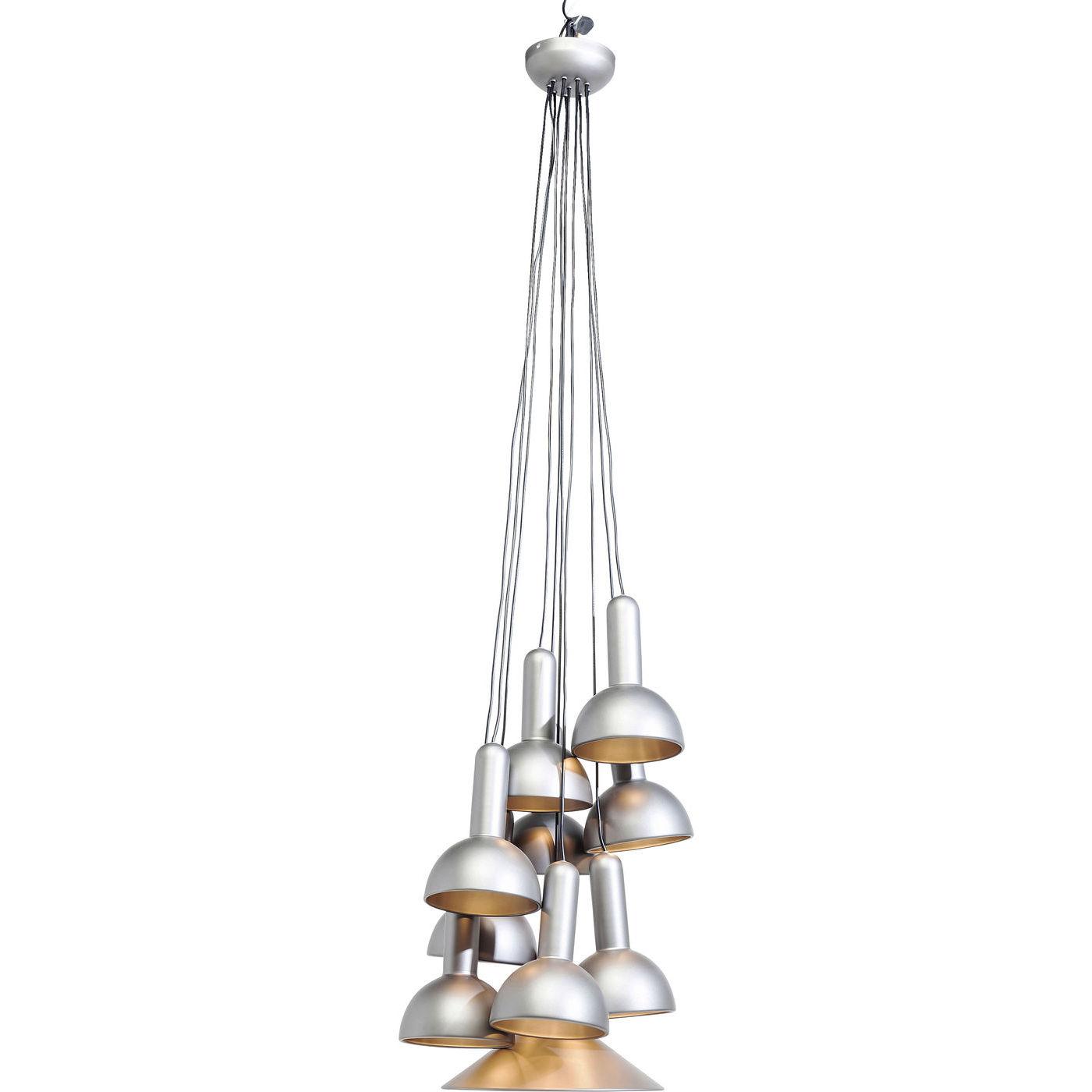 Billede af Kare Design Loftslampe, Cappello Silver