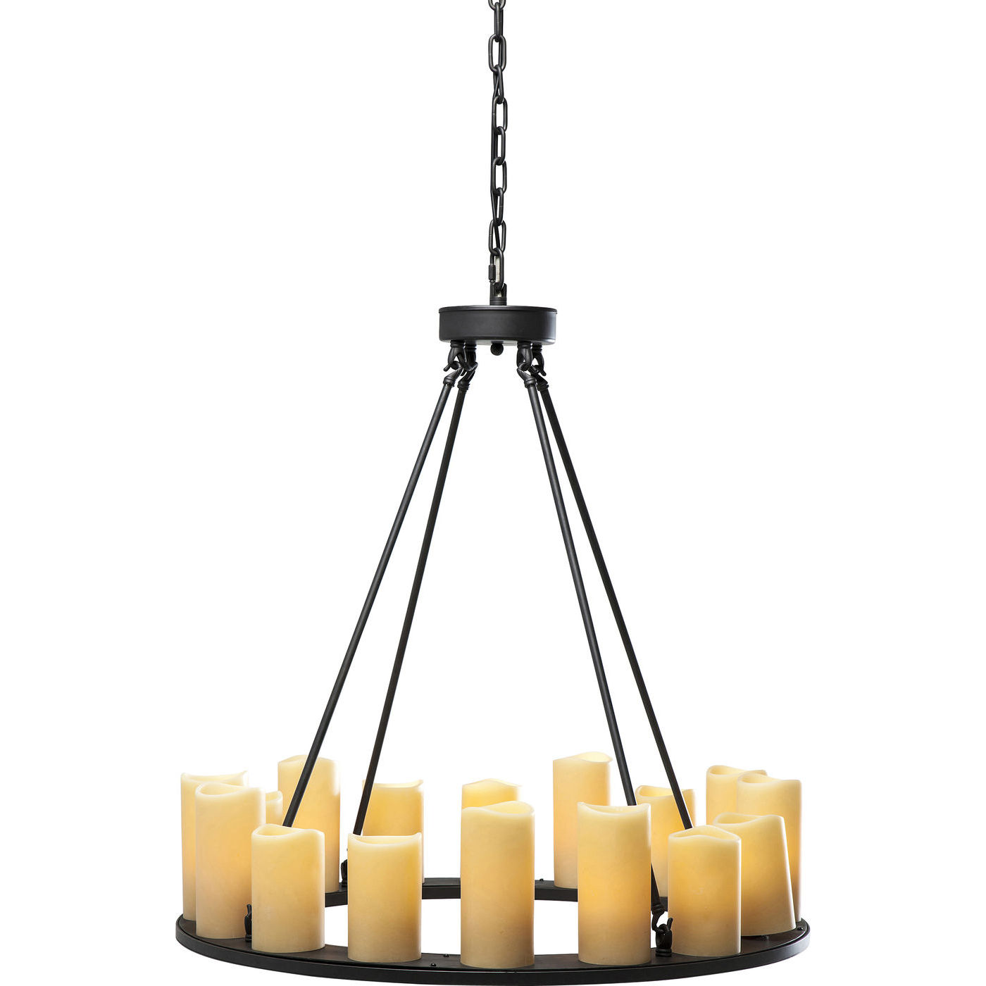 Billede af Kare Design Loftslampe, Candle Light Round
