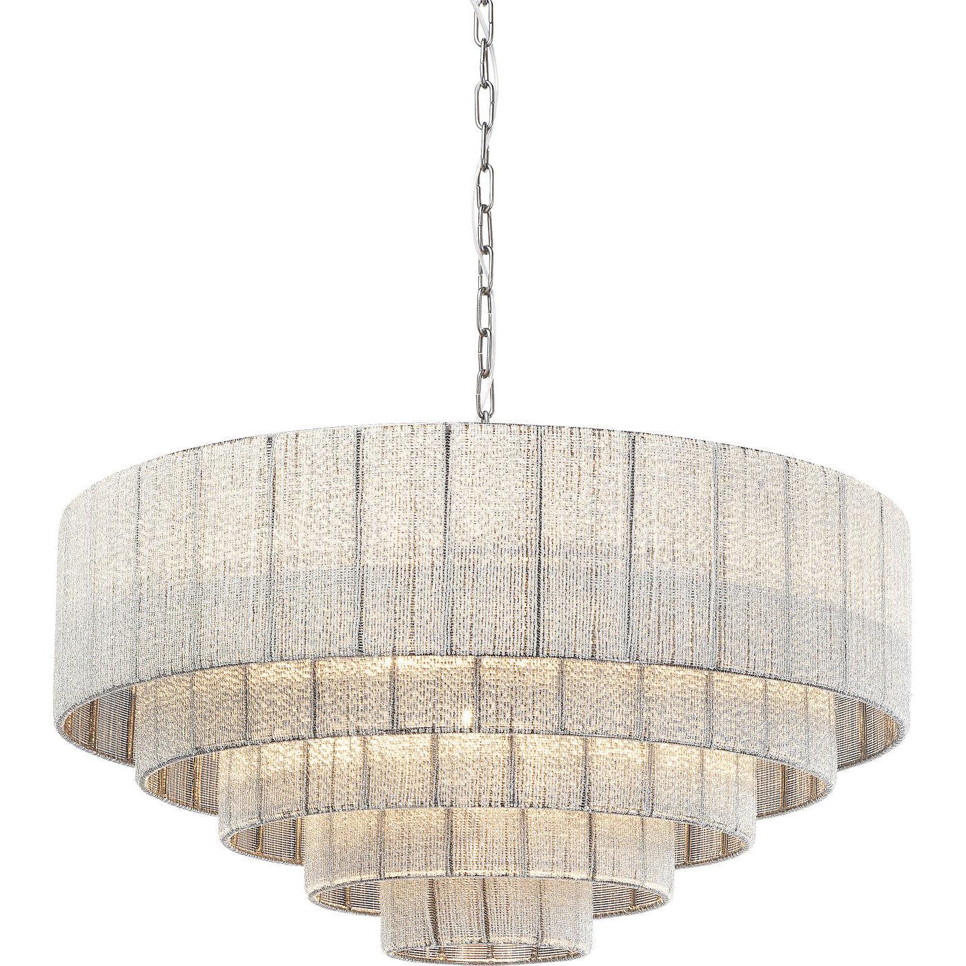 Billede af Kare Design Loftslampe, Glamour Steps Cinque