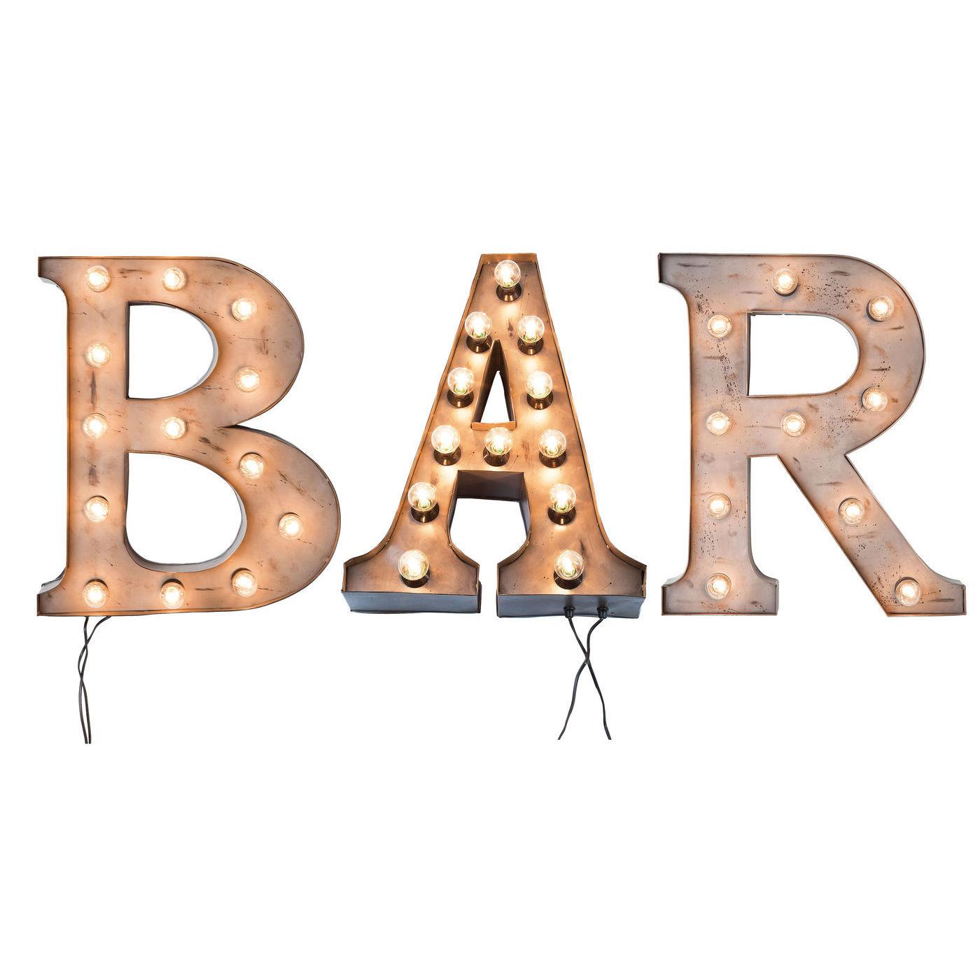 Billede af Kare Design Bar lysskilt