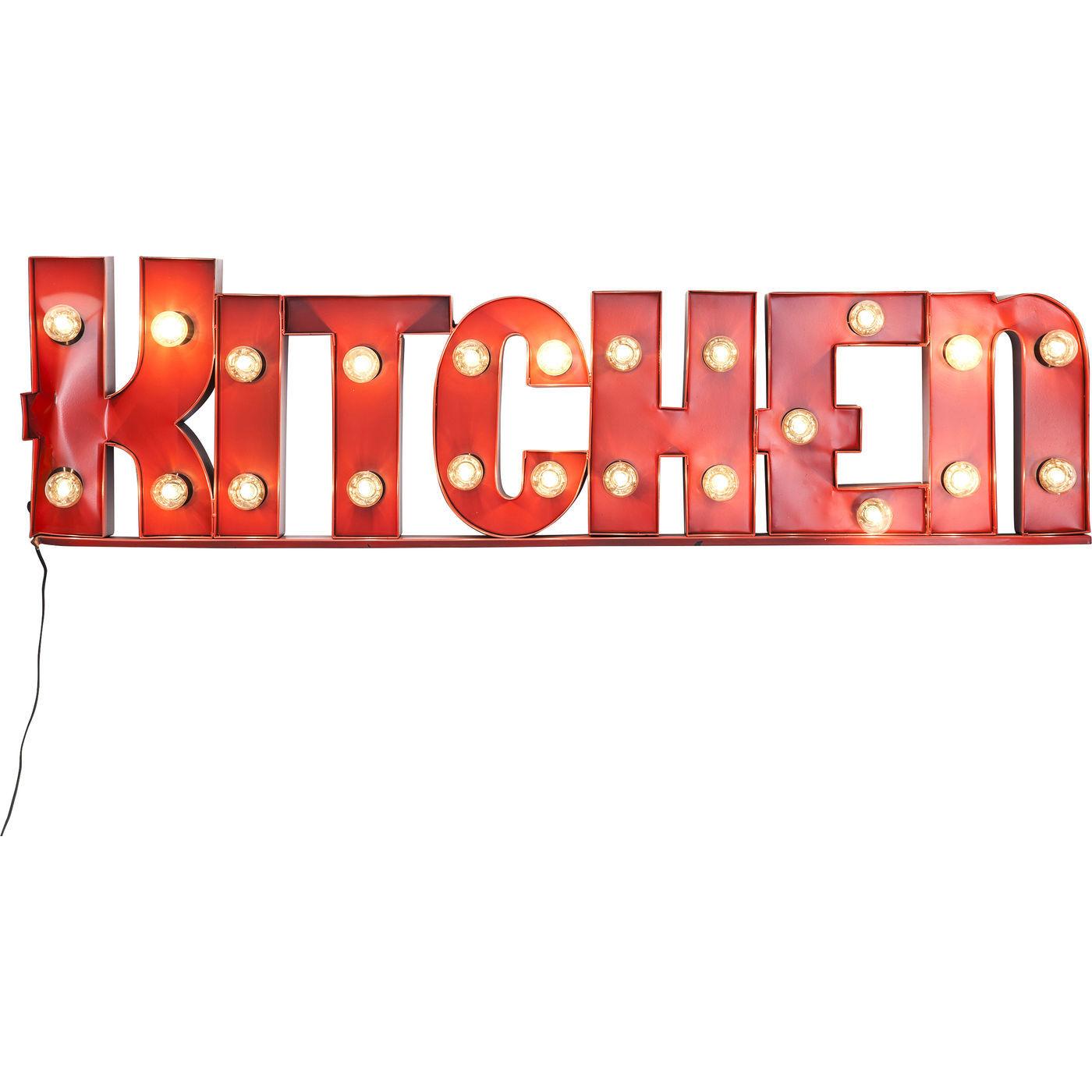 Billede af Kare Design Kitchen lysskilt