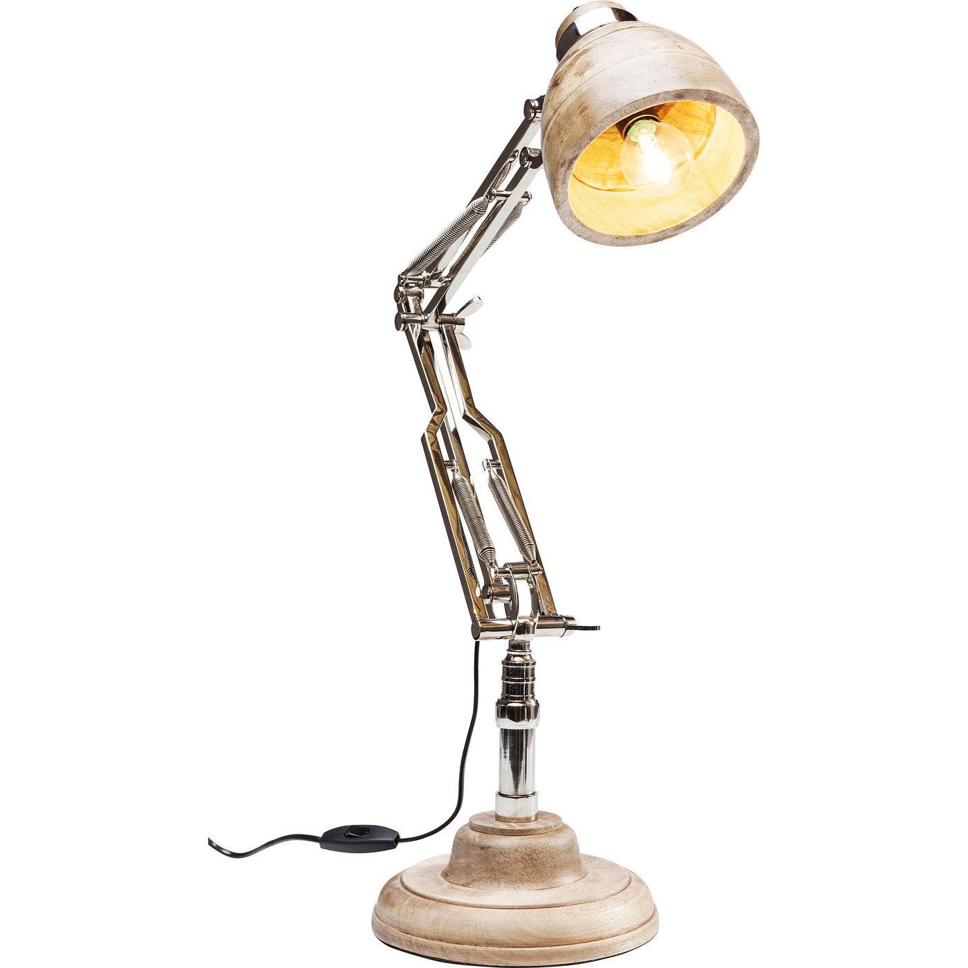 Billede af Kare Design Bordlampe, Desk Wood