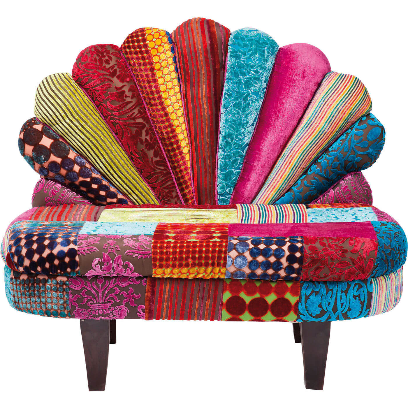Billede af Kare Design Sofabænk, Peacock Velvet