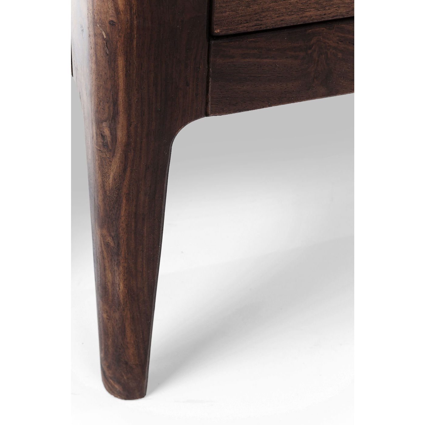Image of   Kare Design Brooklyn Walnut Display Vitrineskab