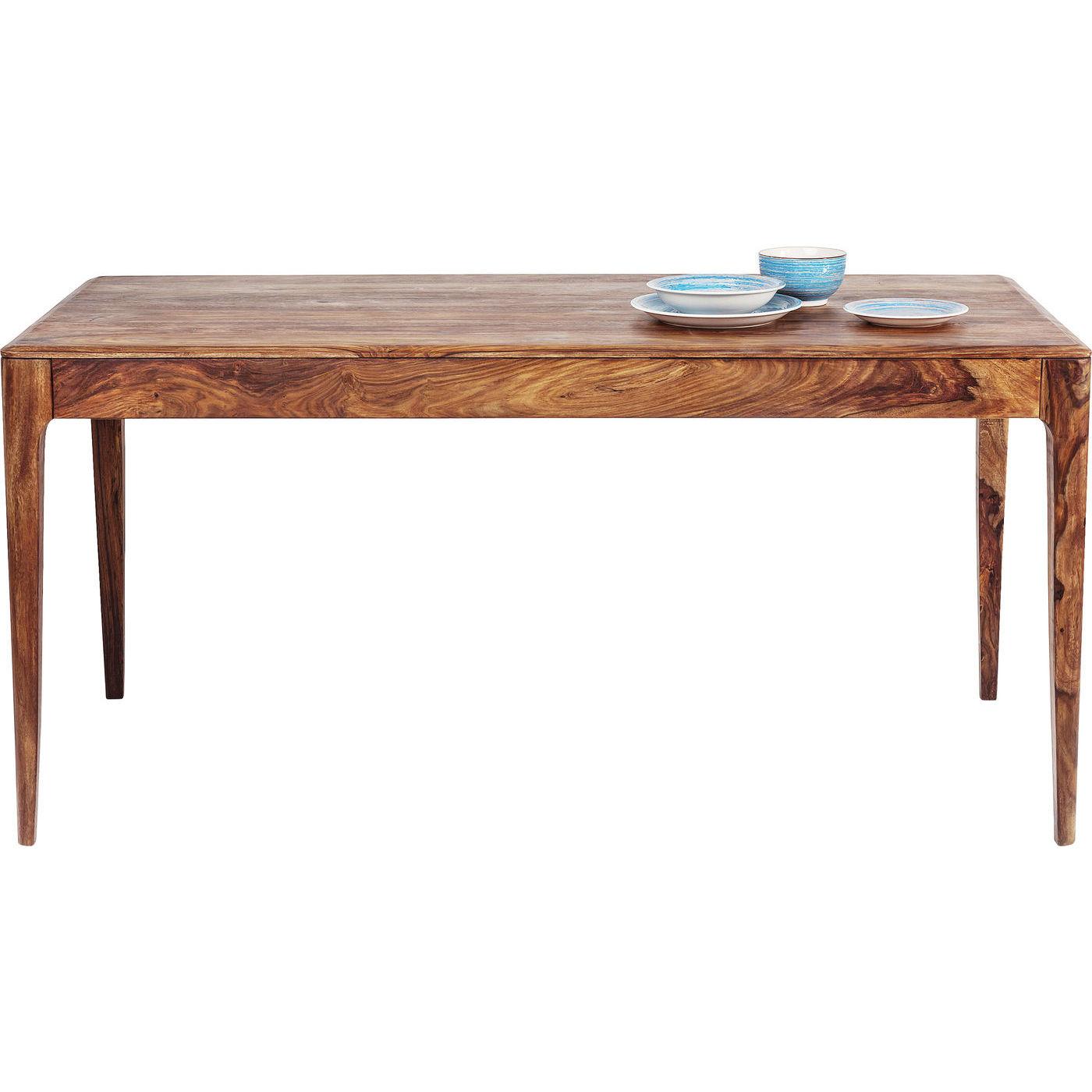 Kare design brooklyn nature spisebord - natur sheeshamtræ (160x80) fra kare design på boboonline.dk
