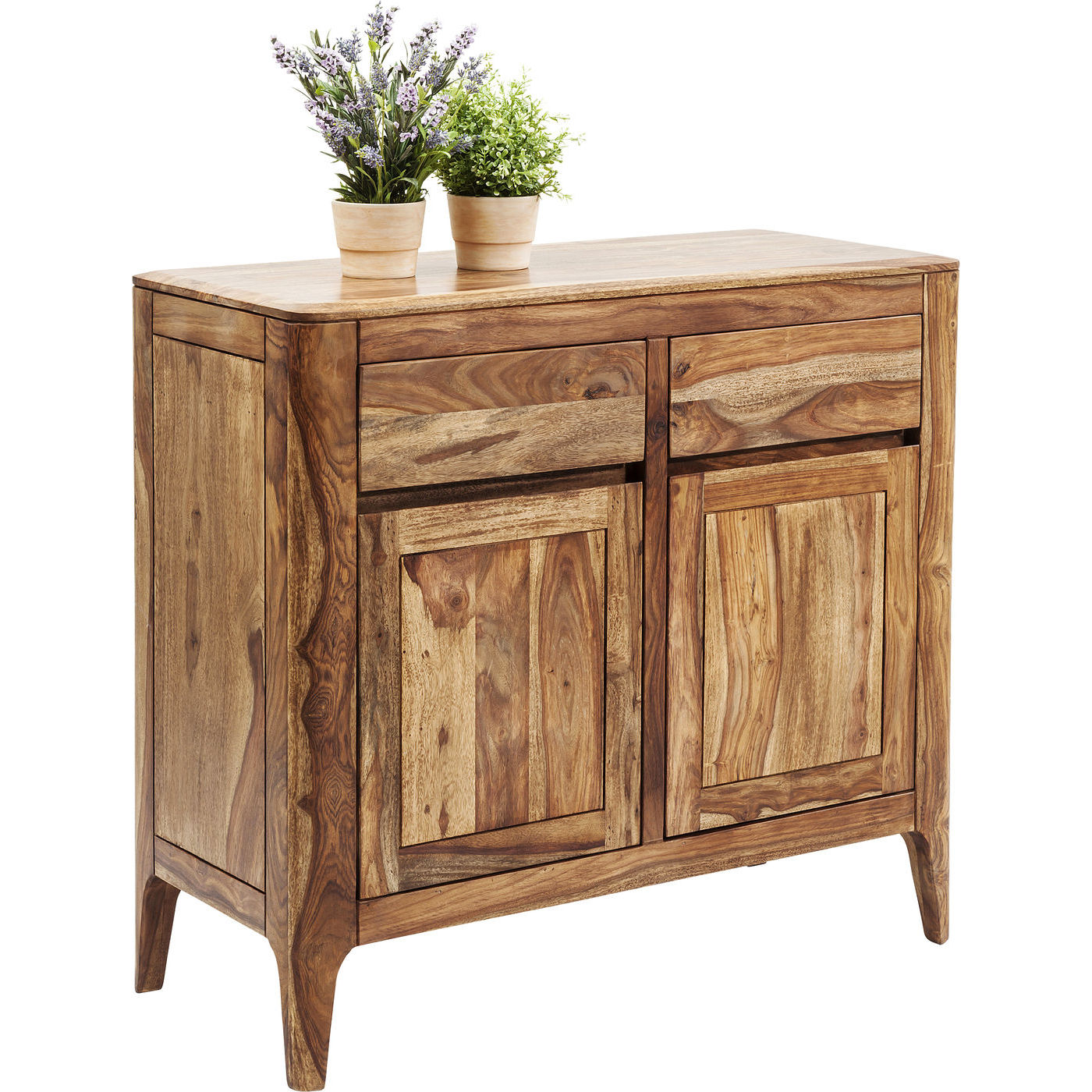 brooklyn nature kommode i sheesham tr 2 skuffer 2 l ger. Black Bedroom Furniture Sets. Home Design Ideas